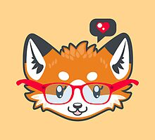 Nerdy Knitwear FOX - head only by ImpyImp