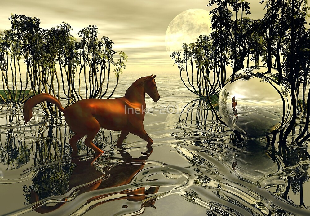 Ballad Of The Absent Mare by Ineke-2010
