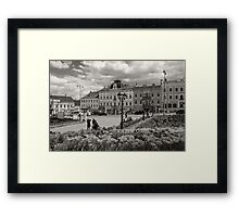 The Central Square View Framed Print