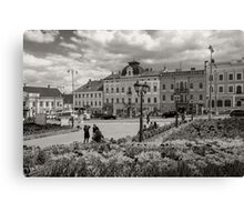 The Central Square View Canvas Print