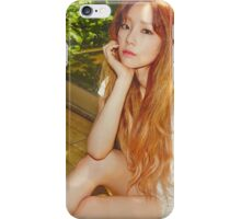 Kim Taeyeon - Autumn Vibes iPhone Case/Skin