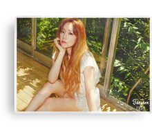 Kim Taeyeon - Autumn Vibes Canvas Print