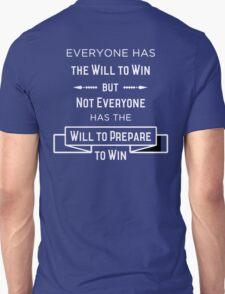 The Will to Win BJJ Shirt Blue, Purple, Brown Unisex T-Shirt
