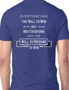 The Will to Win BJJ Shirt Blue, Purple, Brown Unisex T-Shirt