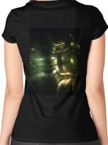 HR GIGER Tribute Women's Fitted Scoop T-Shirt