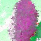 Cubist rock by Trish Peach