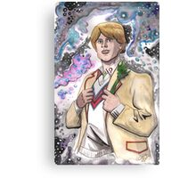 Doctor Who The 5th Doctor Canvas Print