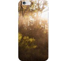 Mount Canobolas sun rays iPhone Case/Skin