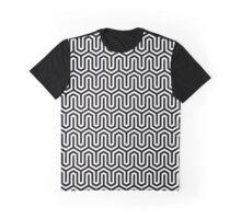 Black and white chevron pattern Graphic T-Shirt