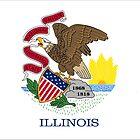 Flag of Illinois by csmarshall