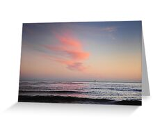 Dawn Over Bass Strait Greeting Card