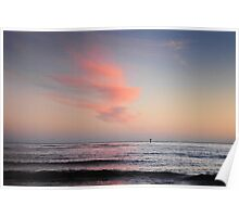 Dawn Over Bass Strait Poster