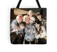 BTS/Bangtan Sonyeondan - Fire Group Photo Tote Bag