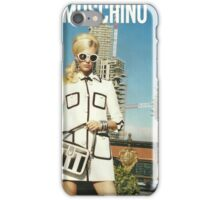 MOSCHINO COVER SHOOT VOGUE SPREAD 2013 iPhone Case/Skin