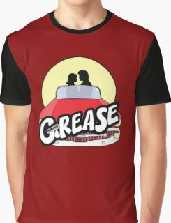 -MOVIES- Grease Graphic T-Shirt