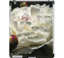 White Peony iPad Case/Skin