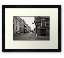 Morning Walks Framed Print