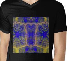Hawaiian Tortoise Graphic Mens V-Neck T-Shirt
