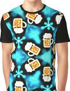More beer please, mas cerveza por favor, drink, drinking, alcohol, party, festival, pattern design, sample, ornaments, Graphic T-Shirt