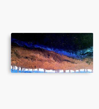 Earth's Dark Night Canvas Print