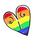 Rainbow Hearted by Clare Colins