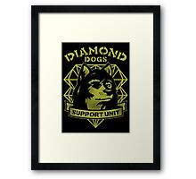 Rescue And Support Framed Print