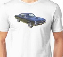 Black 1967 Pontiac GTO Muscle Car Unisex T-Shirt