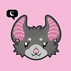 Goth Bat - head only by ImpyImp