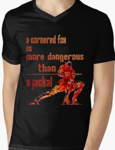 The Fox Mens V-Neck T-Shirt