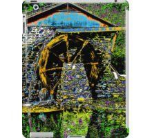 Water Wheel at Stanley Park iPad Case/Skin