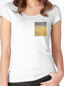 Mellow Yellow - 0019x Women's Fitted Scoop T-Shirt