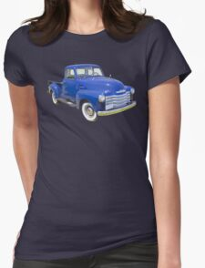 1947 Chevrolet Thriftmaster Antique Pickup Womens Fitted T-Shirt