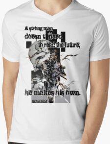 The Snake Mens V-Neck T-Shirt