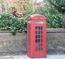 London Telephone Box by scorgie95