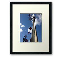 CN Tower Framed Print