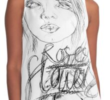 Roses & Flowers Contrast Tank