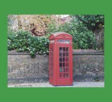 London Telephone Box Kids Tee