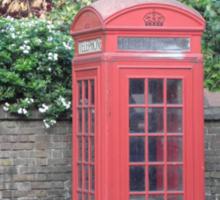 London Telephone Box Sticker