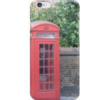 London Telephone Box iPhone Case/Skin