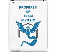 Property of Team Mystic iPad Case/Skin