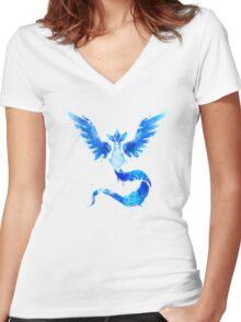 Mystical Avian Women's Fitted V-Neck T-Shirt