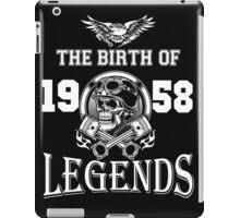 1958-THE BIRTH OF LEGENDS iPad Case/Skin