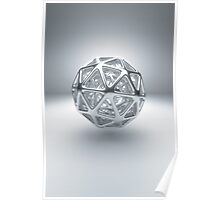Icosphere Poster