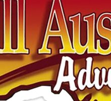 Russell Coight - All Aussie Adventures Logo Sticker