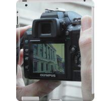 Tourist snap! iPad Case/Skin