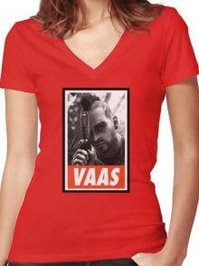 (GEEK) Vaas Montenegro Women's Fitted V-Neck T-Shirt