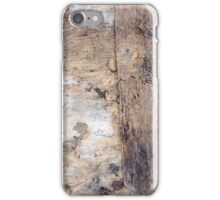 Wooden abstract background iPhone Case/Skin