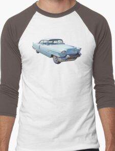 1956 Sedan Deville Cadillac Luxury Car Men's Baseball ¾ T-Shirt