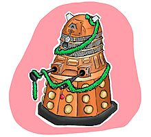 Tinsel Dalek Photographic Print
