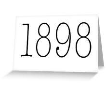 ZTA 1898 Greeting Card
